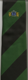 02 Lodge Thistle & Saltire Tie